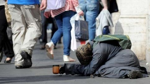 Caritas. A rischio povertà 1 italiano su 4