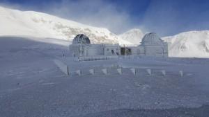 Troppo freddo, ghiaccia anche l'Osservatorio astronomico