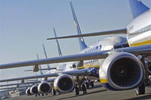 Aumentano le tasse sugli scali. Ryanair taglia 600 posti di lavoro