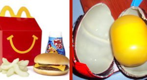 Obesità: Stop alla vendita dell'ovetto Kinder ed Happy Meal. Ecco dove