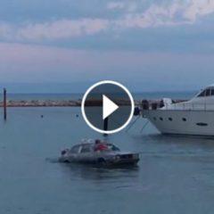 Arriva a Termoli l'auto che galleggia