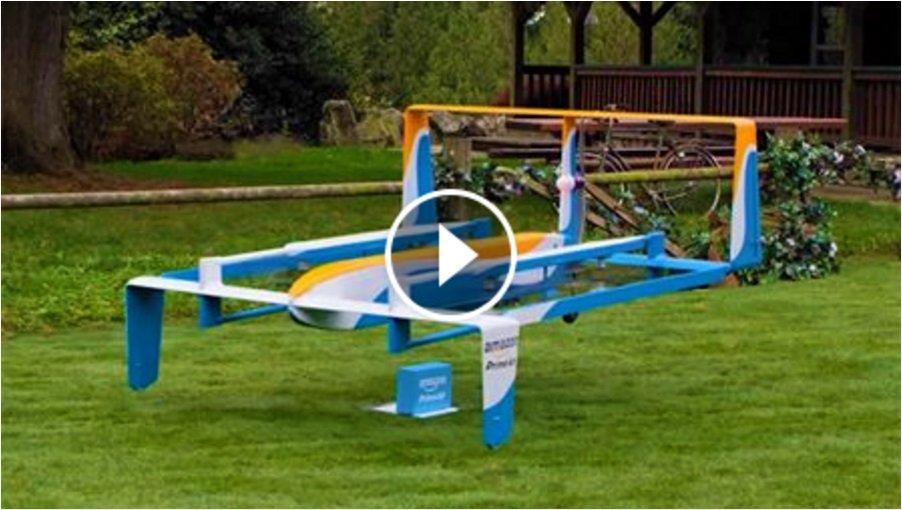 Amazon effettua la prima consegna con il Drone