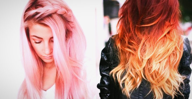 Fire. La tinta per capelli che cambia colore in base alla temperatura
