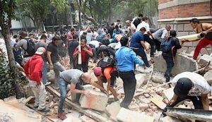 Terremoto in Messico. Crollata una scuola e morte oltre 248 persone