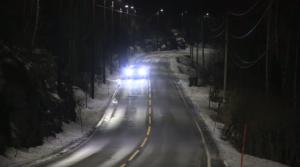 In Norvegia i lampioni si accendono soltanto quando passano le auto
