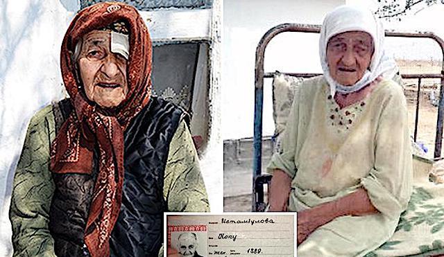 Vive in Russia la donna più vecchia del mondo. Koku ha 129 anni