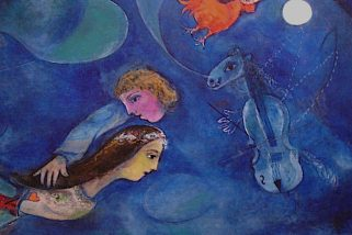 La storia di amore tra il pittore Marc Chagall e Bella