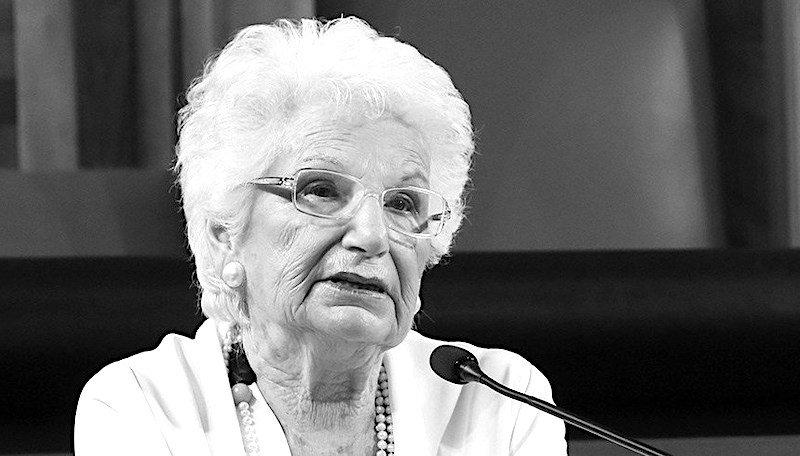 Liliana Segre e il suo 25 aprile. 'Ciascuno di noi ha una coscienza e la può usare'