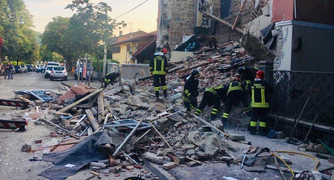 Gorizia. Crolla una palazzina, due morti e un disperso