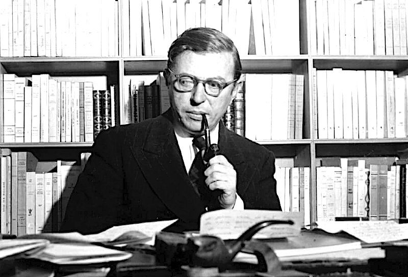 Jean Paul Sartre 'Ogni parola ha conseguenze. Ogni silenzio anche'