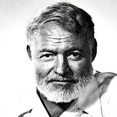 Hemingway: 'La felicità nelle persone intelligenti è la cosa più rara che conosca'